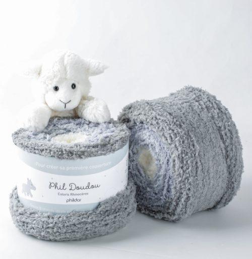 Phildar Phil Doudou Rhinoceros Wolzolder by ItteDesigns