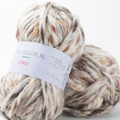 Mineral Phil color xl phildar wolzolder