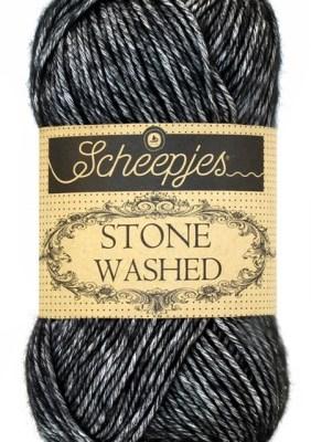 wolzolder Scheepjes Stone Washed - 803 -Black Onyx