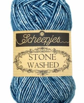 wolzolder Scheepjes Stone Washed - 805- Blue Apatite