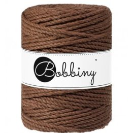 Bobbiny triple twist 5mm Wolzolder Mocha
