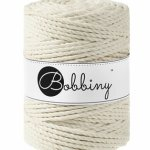 Bobbiny triple twist 5mm Wolzolder Natural