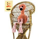 Haakpatroon flamingo Louie Hoooked 1