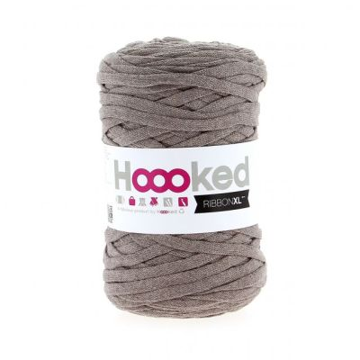 ribbon xl hoooked Earth taupe