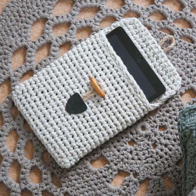 tablet sleeve sandy ecru