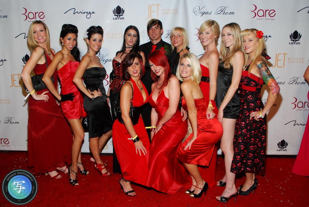 Vegas Prom 2008 - Red Carpet Photos at Bare Pool Lounge