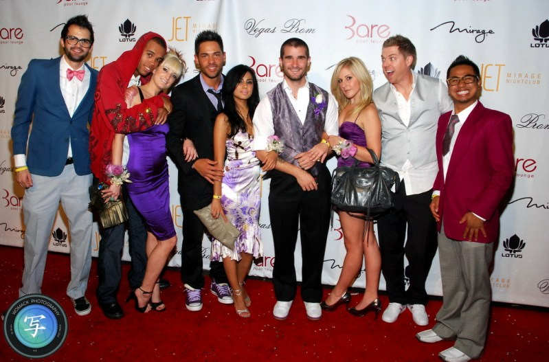 Vegas Prom 2008 at Bare Pool - Red Carpet