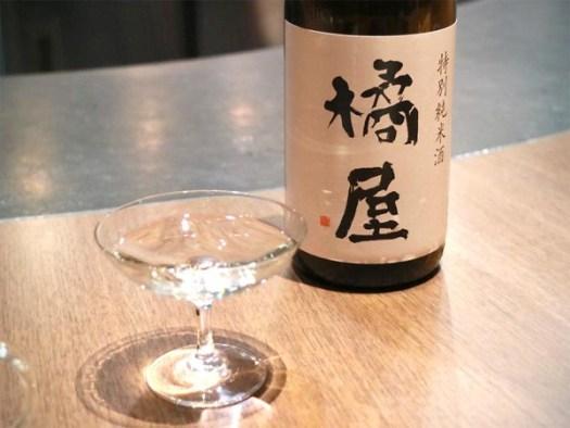 NOHGA HOTEL UENO内「Bistro NOHGA」のコース料理とペアリングされた日本酒