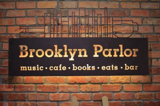「Brooklyn Parlor SHINJUKU」の看板