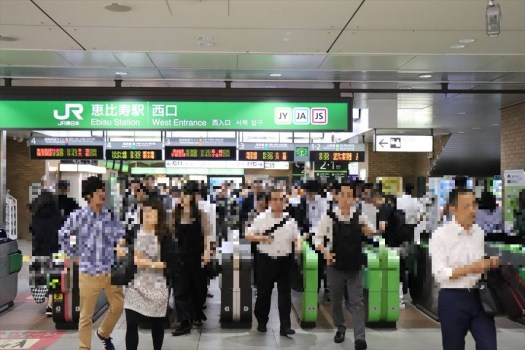 JR恵比寿駅の改札