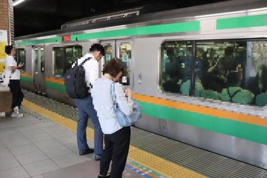 恵比寿駅のホーム