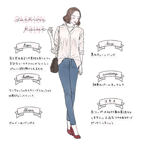 30代が秋に着るべき合コンファッション