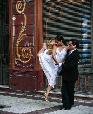 Tango dancers Palermo