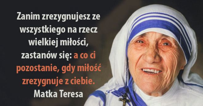 Znalezione obrazy dla zapytania Matka Teresa