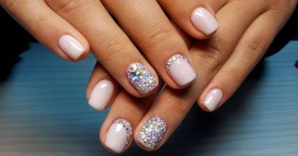 Красивый маникюр на короткие ногти – яркий и нежный ...
