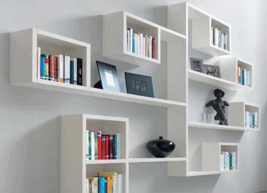 Полки для книг на стену
