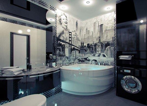 красивые ванные комнаты дизайн 7