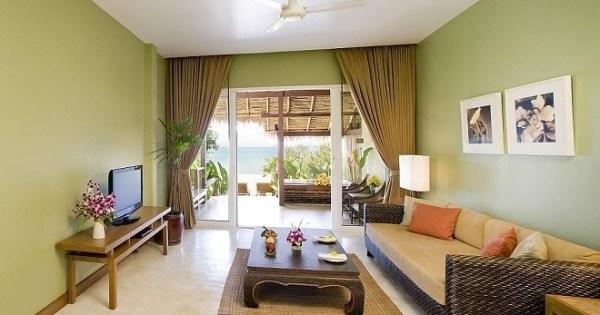 Какие шторы подойдут к зеленым обоям - какие цвета лучше ...