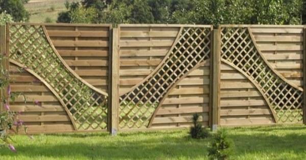 Деревянные заборы для дачи и частного дома, дизайн - виды ...