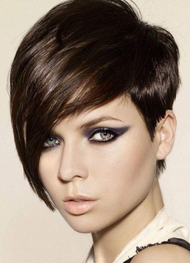 Triangular face haircuts 1