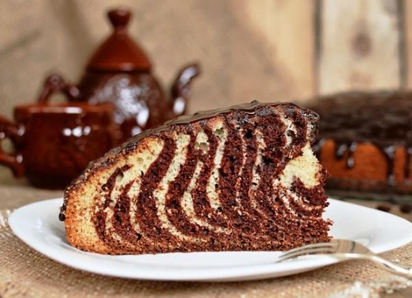 Торт «Зебра» - классический рецепт
