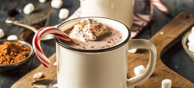 алкогольный горячий шоколад
