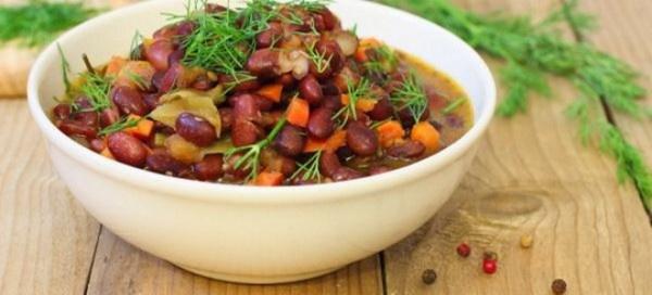 Блюда из фасоли - простые и вкусные рецепты лобио, супа из ...
