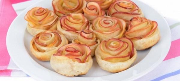 Слойки с яблоками рецепты пирожков конвертиков булочек