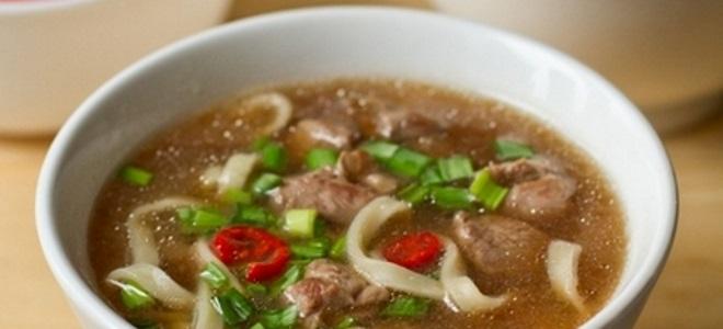суп из утиных окорочков