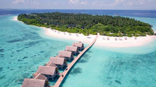 картинка фотография курорта Южный Малосмадулу (Ба), aтолл на Мальдивах