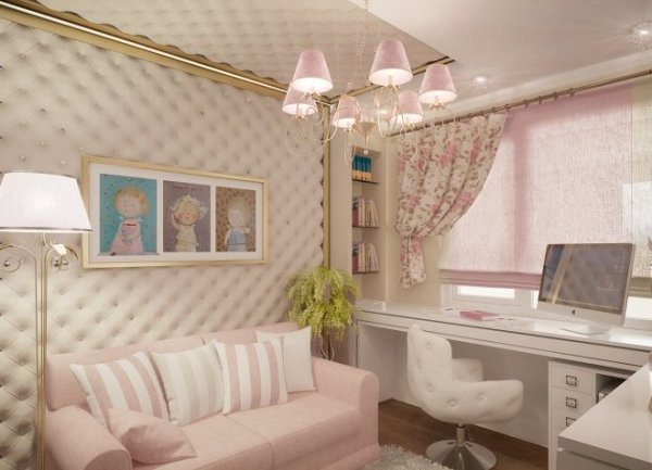 Детская комната для девочки 10 лет - дизайн