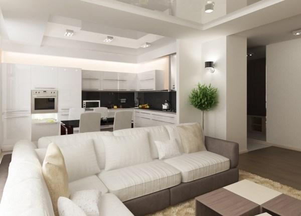 Кухня-гостиная - дизайн