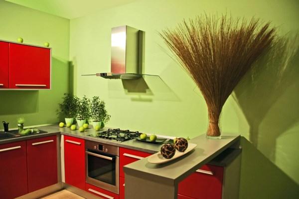 В какой цвет покрасить кухню?