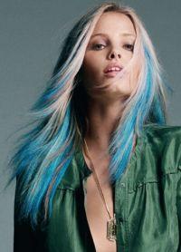 голубые волосы14
