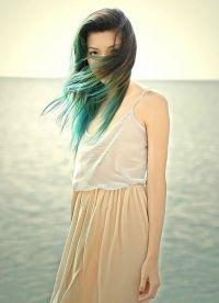 голубые волосы20