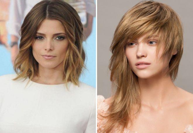 Frizure Za Srednje Ravne čupave Kose Modne ženske Frizure