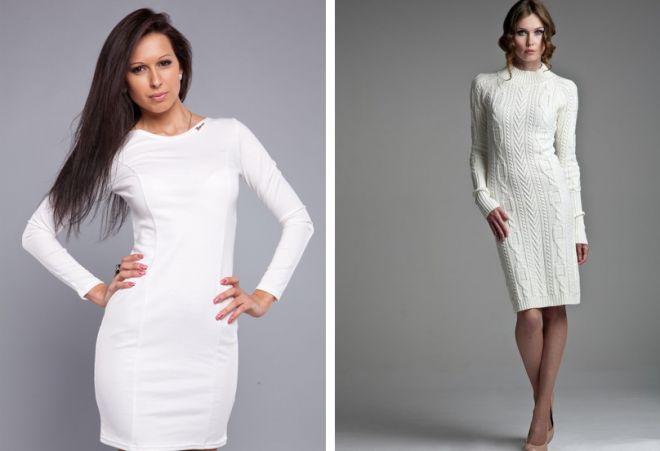 9a3093d0eb6 Белое платье на любой вкус – короткое или длинное