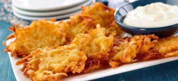 Драники - рецепты из картошки, тыквы, кабачков, моркови, с ...