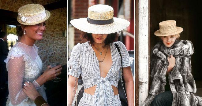 Opzioni per il cappello da donna