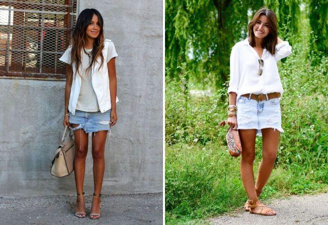 short denim skirts