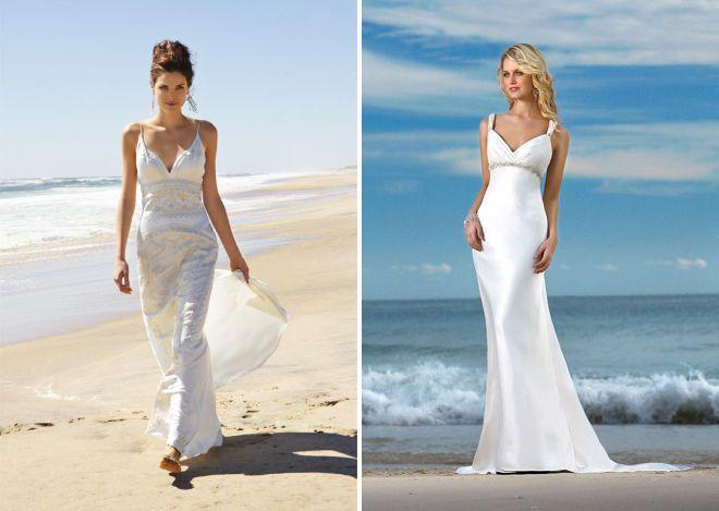 Beach Ceremony Wedding Dresses