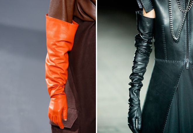 female grease gloves