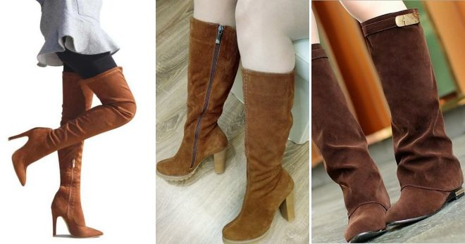 How To Wear Brown Leather Suede Boots