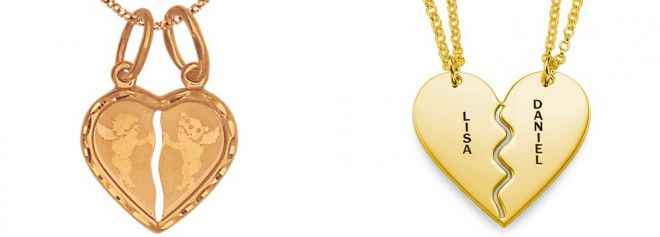 pendants of gold d lovers