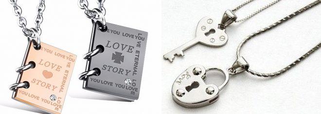 fashion pendants d lovers