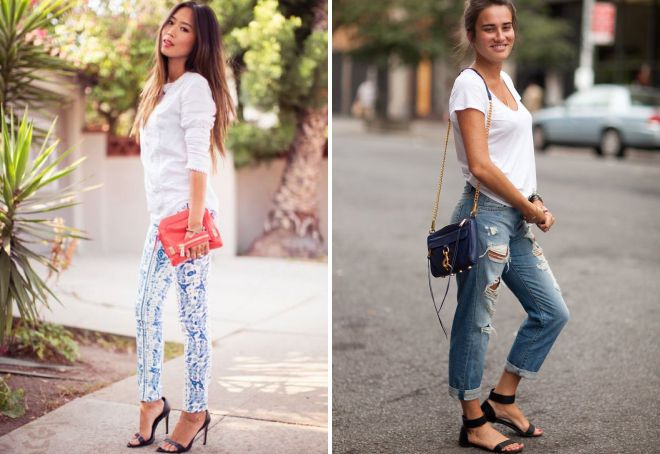 sandals for jeans