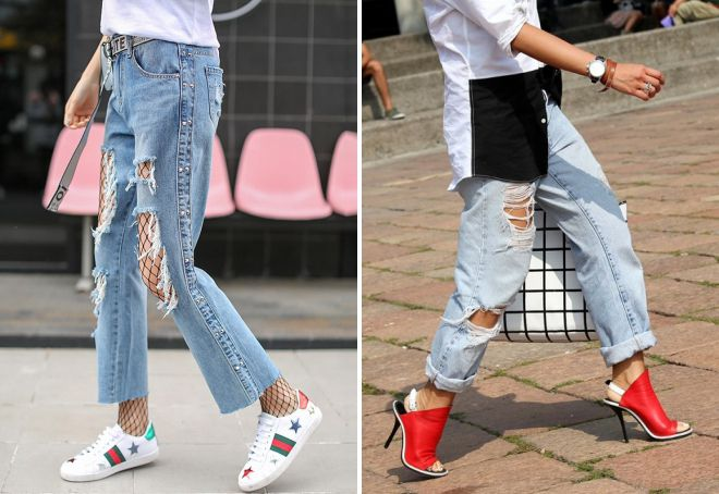 what shoes to wear with jeans women
