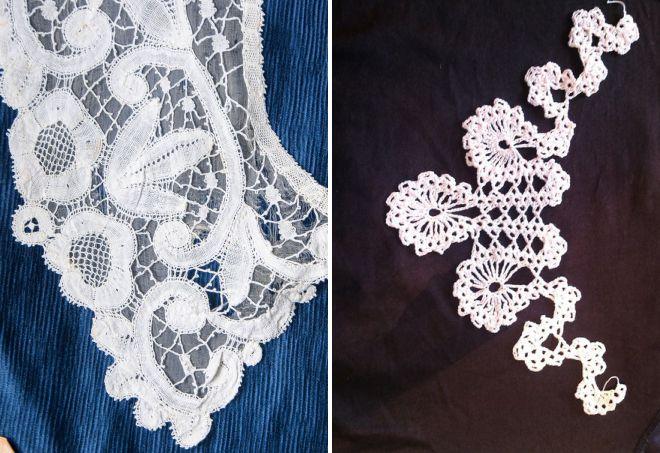 collars bruges lace