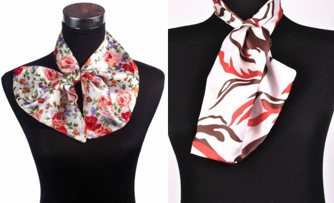 french tie for women