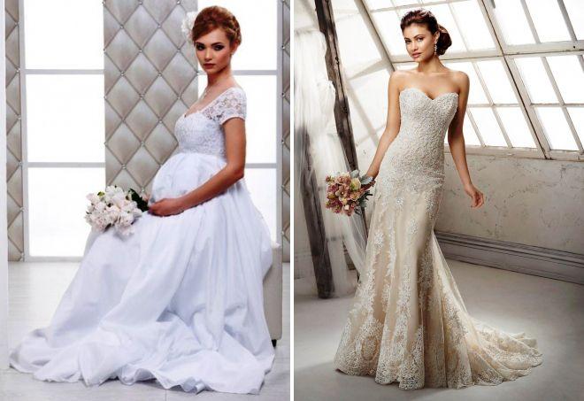 maternity wedding dress